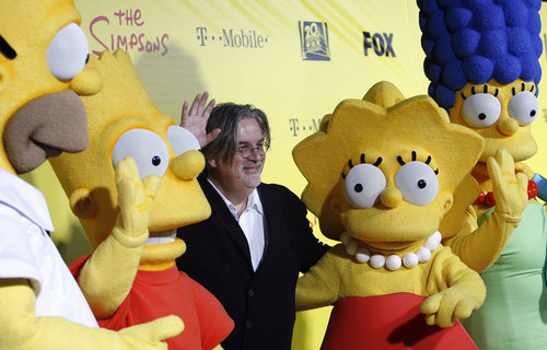 Matt-Groening-Simpsons