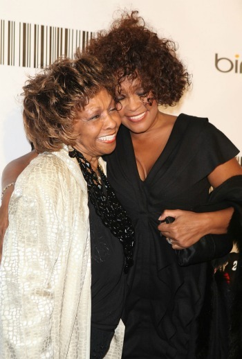 Cissy Houston avec sa fille