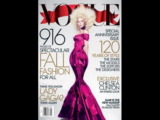Lady Gaga fait la couverture de Vogue US