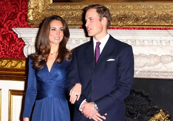 Le prince Prince William et Kate Middleton